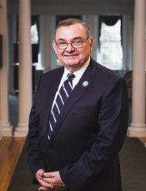 Dr. Bruce Murphy, President of Centenary University